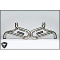 Lamborghini Gallardo Sports exhaust by Tecnocraft  (04-08)